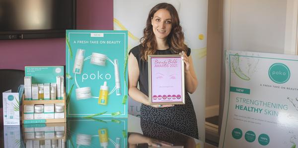 Poko Wins Silver at the Beauty Bible Awards 2021 for Best Eye Treatment